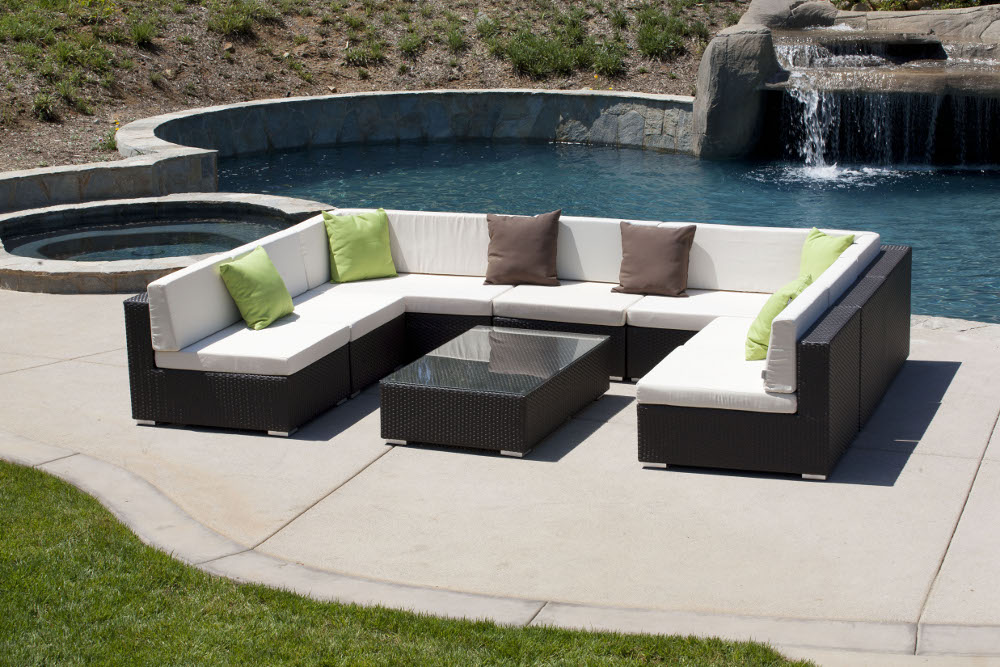 Sectional New For 2015 The Tuscany Is A U Shaped Outdoor Sectional .