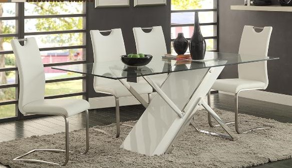 Our Products Modern style Glass dining table 172  : 7381 72 from vancouversofacompany.com size 583 x 335 jpeg 94kB
